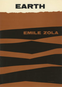 Earth by Emile Zola. Grove Press. 1955. Hardcover. Cover designed by Roy Kuhlman.