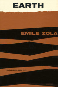 Earth by Emile Zola. Grove Press. 1955. Evergreen Paperback. Cover designed by Roy Kuhlman.