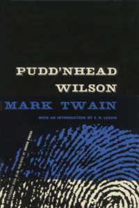 Pudd'nhead Wilson by Mark Twain. Grove Press. 1955. Evergreen Paperback. Cover designed by Roy Kuhlman.