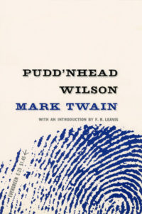 Pudd'nhead Wilson by Mark Twain. Grove Press. 1955; Reprint (print date unknown). Evergreen Paperback. Cover designed by Roy Kuhlman.