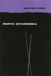 Selected Poems by Marya Zaturenska. Grove Press. 1954. Hardcover. Cover designed by Roy Kuhlman.