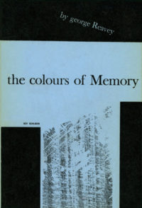 The Colours of Memory by George Reavey. Grove Press. 1955. Hardcover. Cover designed by Roy Kuhlman.