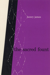 The Sacred Fount by Henry James. Grove Press. 1953. Hardcover. Cover designed by Roy Kuhlman.