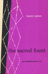 The Sacred Fount by Henry James. Grove Press. 1953. Evergreen Paperback. Cover designed by Roy Kuhlman.