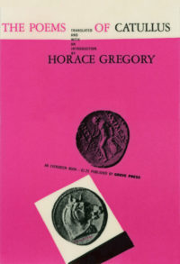 The Poems of Catullus. Horace Gregory (trans). Grove Press, 1956. Evergreen Paperback. Cover designed by Roy Kuhlman.